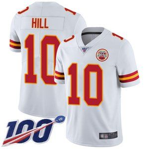 Kansas City Chiefs Tyreek Hill 100th Season Jersey